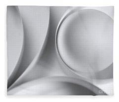 Ball And Curves 04 Fleece Blanket