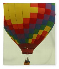 Balloon Ride Fleece Blanket