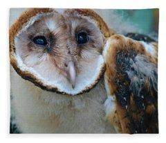 Barn Owlet Fleece Blanket