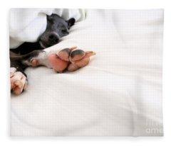 Bed Feels So Good Fleece Blanket