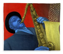 Ben Webster Fleece Blanket