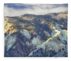 Big Rock Candy Mountains Fleece Blanket