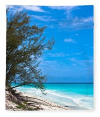 Bimini Beach Fleece Blanket