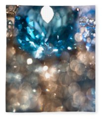 Blue Topaz. Spirit Of Treasure Fleece Blanket