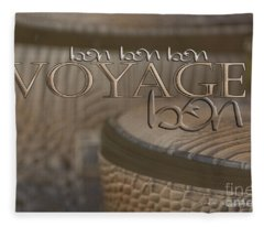 Bon Voyage Fleece Blanket