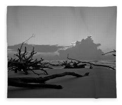 Bone Yard Fleece Blanket