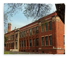 Border Star Elementary School Kansas City Missouri Fleece Blanket