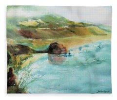 California Dreaming Fleece Blanket