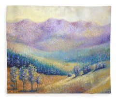 California Pleasant Fleece Blanket