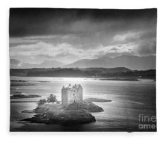 Castle Stalker Fleece Blanket