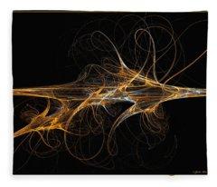 Celebration Of Impulses - Abstract Art Fleece Blanket