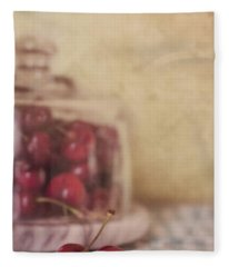 Cerise Fleece Blanket