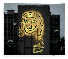 Che Guevera II Fleece Blanket