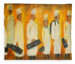 Chef School Fleece Blanket