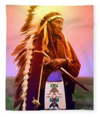Chiefton Fleece Blanket