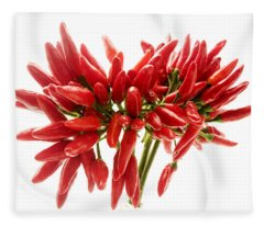 Chili Peppers Fleece Blanket