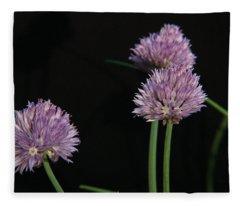 Chives 1 Fleece Blanket