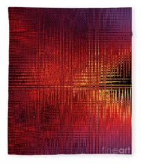 Chromosome 13 Fleece Blanket