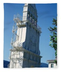 Church Bells Fleece Blanket