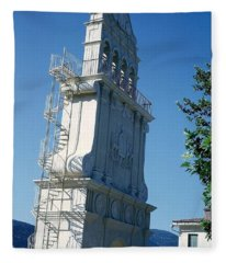 Church Bells Fleece Blanket