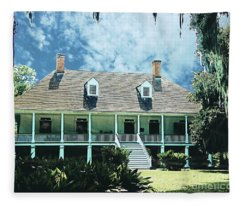 Circa 1750 Parlange Plantation New Roads La Fleece Blanket
