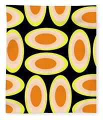Circles Fleece Blanket
