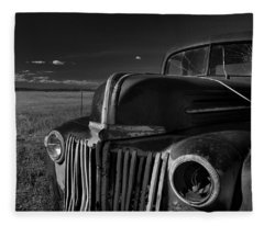 Classic Rust Fleece Blanket