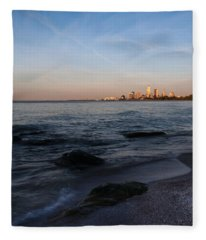 Cleveland From The Shadows Fleece Blanket