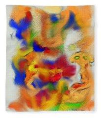 Coffee Break Fleece Blanket
