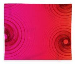 Color Chart One Fleece Blanket