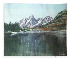 Colorado Beauty Fleece Blanket
