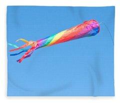 Colourful Flag Fleece Blanket