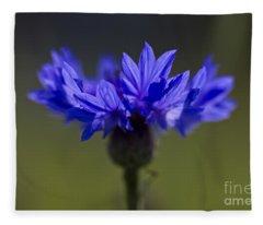 Cornflower Blue Fleece Blanket
