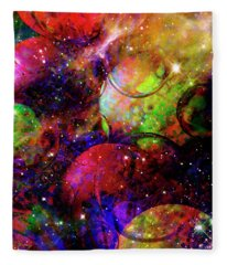 Cosmic Confusion Fleece Blanket