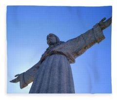 Cristo Rei Fleece Blanket