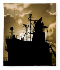 Dark Superstructure Fleece Blanket