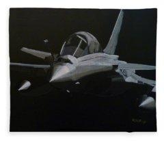 Dassault Rafale Fleece Blanket