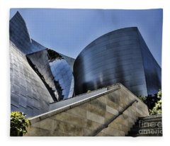 Disney Concert Hall I Fleece Blanket