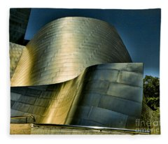 Disney Concert Hall II Fleece Blanket