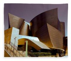 Disney Music Hall I Fleece Blanket