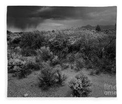 Distant Shower Fleece Blanket