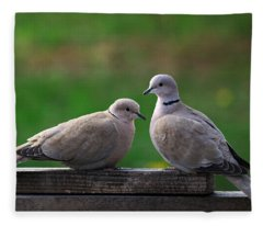Doves Fleece Blanket