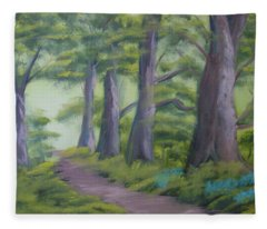 Duff House Path Fleece Blanket