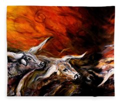 Dust Storm Fleece Blanket