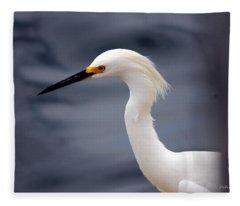 Egret Soft Fleece Blanket