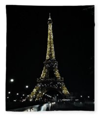 Eiffel Tower - Paris Fleece Blanket