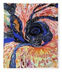 Energy Swirls Fleece Blanket