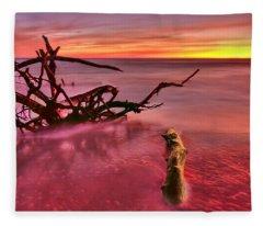 Entangled Fleece Blanket