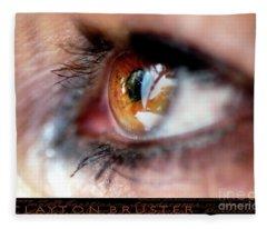 Eye Don't Know Fleece Blanket