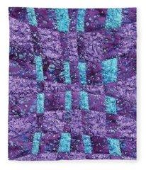 Fabric Weaving Fleece Blanket
